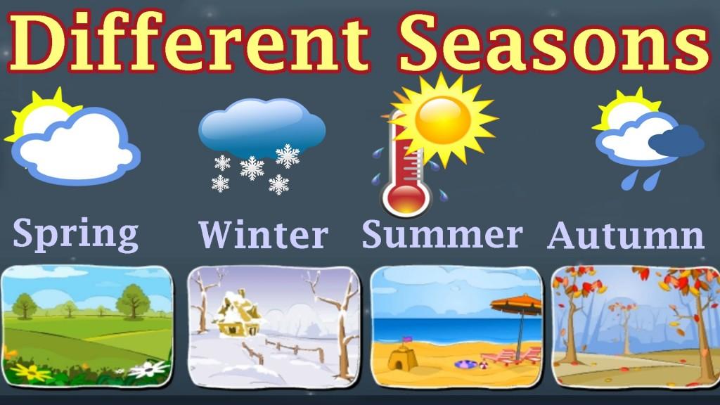 1 186 Primaria Seasons Vocabulary Science English Corner