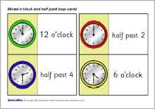 half past - oclock