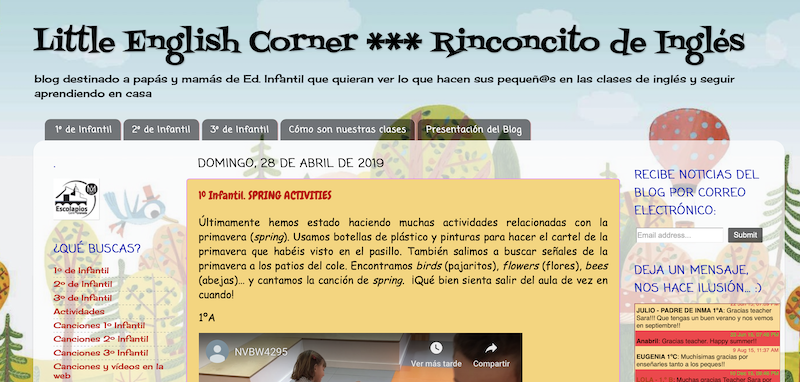 El rinconcito de Inglés - Little English Corner